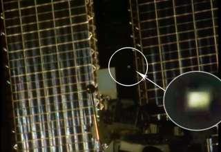 objeto extraterrestre estacion espacial internacional 320x220 - Detectan un misterioso objeto extraterrestre dando vueltas alrededor de la Estación Espacial Internacional