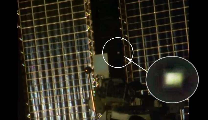 objeto extraterrestre estacion espacial internacional 850x491 - Detectan un misterioso objeto extraterrestre dando vueltas alrededor de la Estación Espacial Internacional