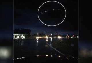 ovni carolina norte 320x220 - Fotografían un espectacular OVNI de forma cuadrada sobre una autopista en Carolina del Norte