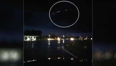 ovni carolina norte 384x220 - Fotografían un espectacular OVNI de forma cuadrada sobre una autopista en Carolina del Norte