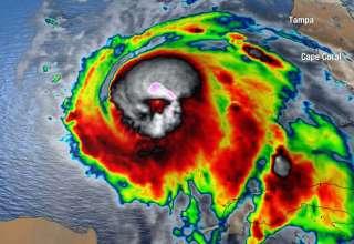 calavera huracan michael 320x220 - Aparece una aterradora calavera en una imagen satelital del huracán Michael