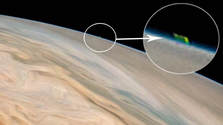 ovni jupiter - Los mejores avistamientos OVNI del 2018, ¿estamos a las puertas de la revelación extraterrestre?