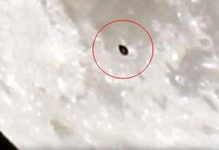 ovni luna 320x220 - Astrónomo británico capta un OVNI con toda claridad pasando a gran velocidad frente a la Luna