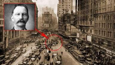 rudolph fentz 384x220 - La sorprendente historia de Rudolph Fentz, el viajero del tiempo que murió en Time Square en 1950
