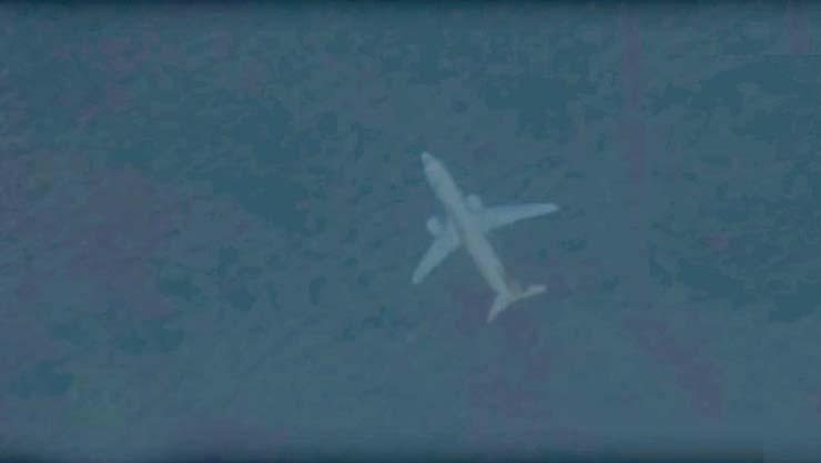 avion sumergido costa escocia - Descubren en Google Earth un misterioso avión sumergido bajo el mar cerca de la costa de Escocia