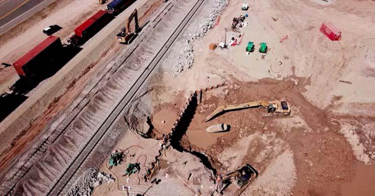 big one inminente terremotos - Advierten que el Big One es inminente: terremotos y un géiser de lodo que se desplaza en California