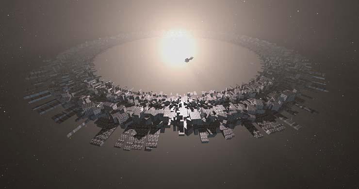 megaestructura extraterrestre - Astrónomos descubren otra megaestructura extraterrestre drenando la energía de una estrella