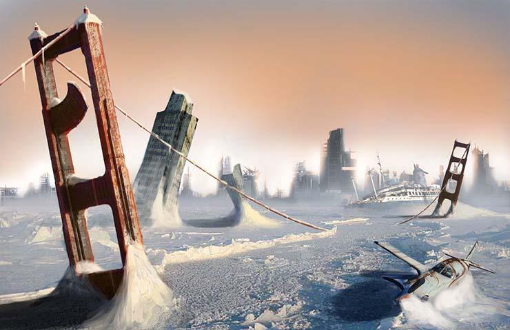 nasa edad hielo - Científico de la NASA predice una nueva Edad de Hielo para los próximos meses