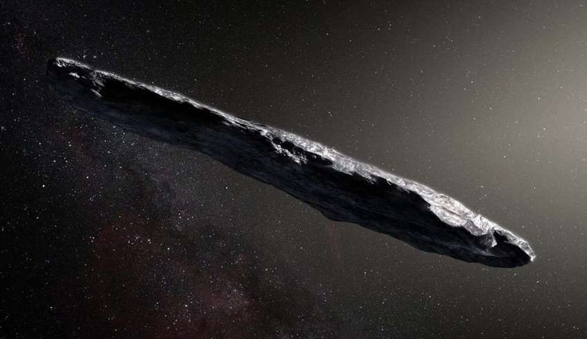 oumuamua sonda espacial extraterrestre 850x491 - Científicos de la Universidad de Harvard confirman que el asteroide Oumuamua es una sonda espacial extraterrestre