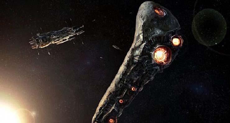 oumuamua sonda extraterrestre - Científicos de la Universidad de Harvard confirman que el asteroide Oumuamua es una sonda espacial extraterrestre