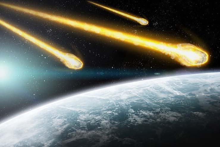 tres asteroides - La NASA alerta que ni uno, ni dos, sino TRES gigantescos asteroides podrían impactar contra la Tierra mañana