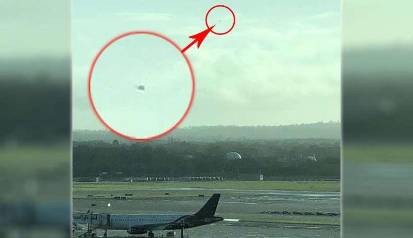 aeropuerto de gatwick 850x491 - Experto en drones asegura que varios ovnis han provocado el cierre del aeropuerto de Gatwick