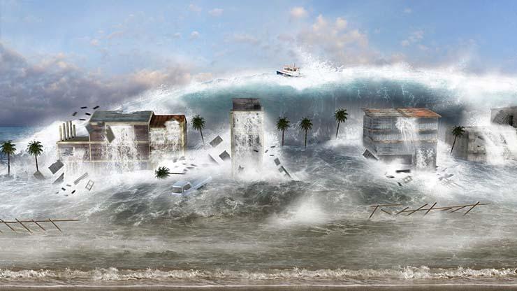 etna megatsunami - Científicos advierten que la nueva erupción del volcán Etna puede provocar un megatsunami