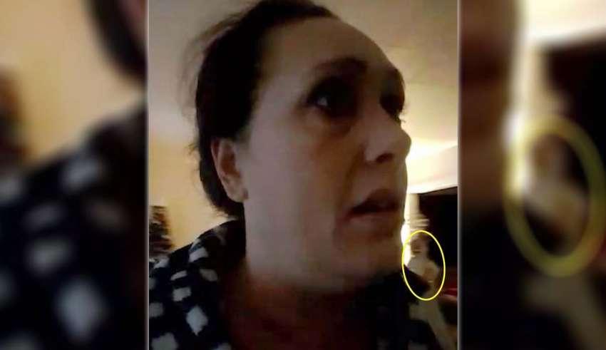 figura paranormal videollamada 850x491 - Una mujer ve una figura paranormal mientras habla a través de videollamada con su amiga