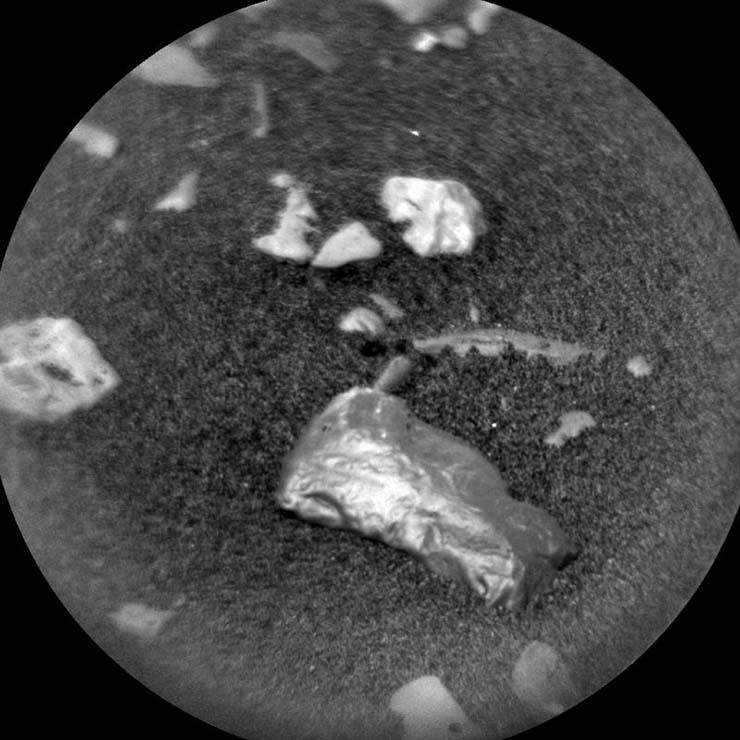 La NASA investiga un misterioso objeto brillante en Marte