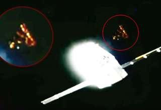 ovni spacex dragon 320x220 - Aparece un misterioso OVNI cerca del SpaceX Dragon antes de que corten la transmisión en directo