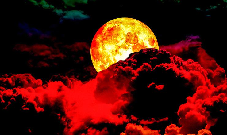superluna sangre de lobo - Expertos aseguran que la superluna de sangre de lobo de enero marca el comienzo del apocalipsis