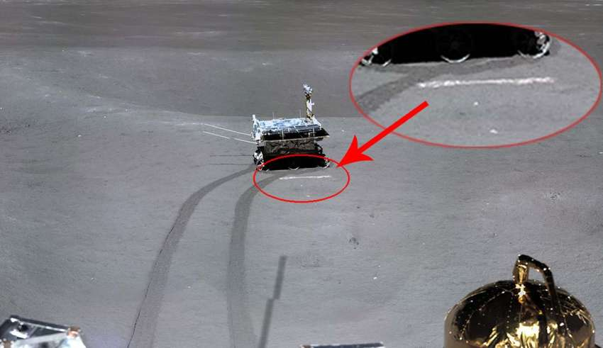alunizaje china falso 850x491 - Una foto demuestra que el alunizaje de la sonda china Chang'e-4 en la cara oculta de la Luna es falso