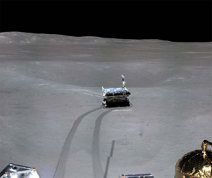alunizaje sonda china falso - Una foto demuestra que el alunizaje de la sonda china Chang'e-4 en la cara oculta de la Luna es falso