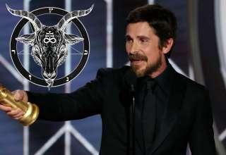 """christian bale satan 320x220 - El actor Christian Bale agradece a Satán su Globo de Oro por su interpretación en la película """"Vice"""""""