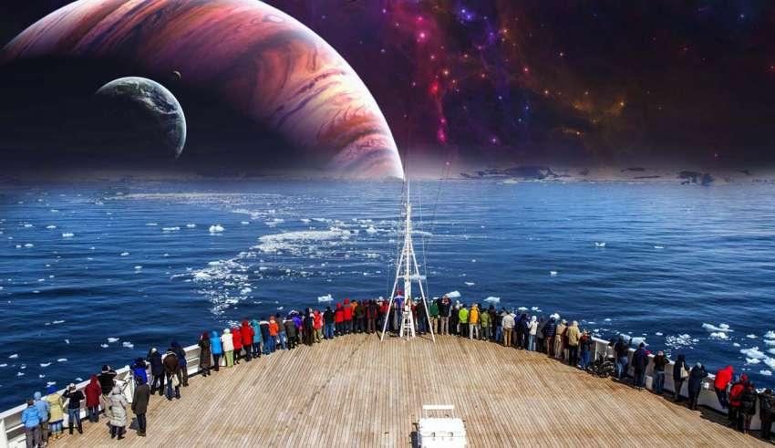 crucero tierra plana 850x491 - Los terraplanistas organizan un crucero para demostrar que la Tierra es plana
