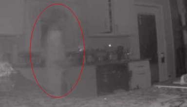 fantasma camara seguridad 384x220 - Una mujer ve el fantasma de su hijo fallecido a través de la cámara de seguridad de su casa