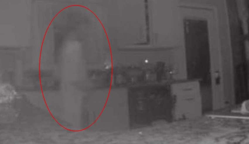 fantasma camara seguridad 850x491 - Una mujer ve el fantasma de su hijo fallecido a través de la cámara de seguridad de su casa