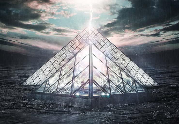 """piramide de louvre illuminati - La pirámide de Louvre, """"centro de poder"""" Illuminati"""