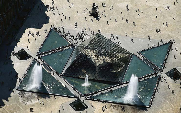 "piramide louvre centro illuminati - La pirámide de Louvre, ""centro de poder"" Illuminati"