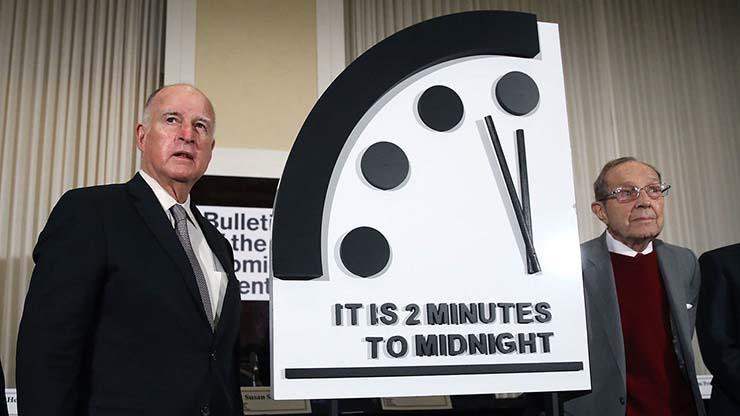 reloj del juicio final apocalipsis - El 'Reloj del Juicio Final' a tan solo 2 minutos del Apocalipsis