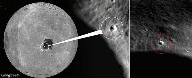 sonda china bases extraterrestres - La sonda china Chang'e-4 aterriza enla cara oculta de laLuna y revelará la existencia de bases extraterrestres