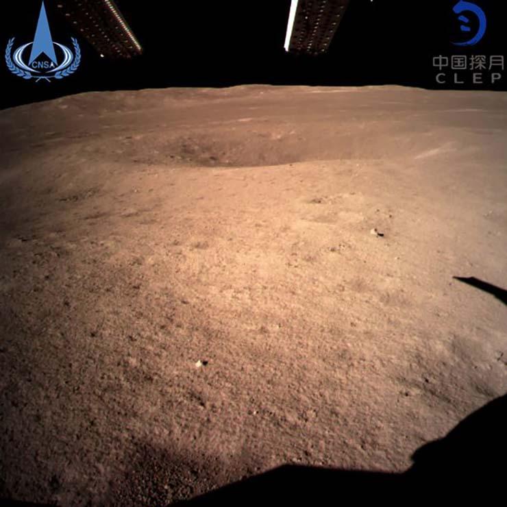 La sonda china Chang'e-4 aterriza en la cara oculta de la Luna