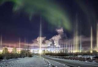 misteriosos pilares luz ciudad rusa 320x220 - Un fotógrafo graba misteriosos pilares de luz sobre una ciudad rusa