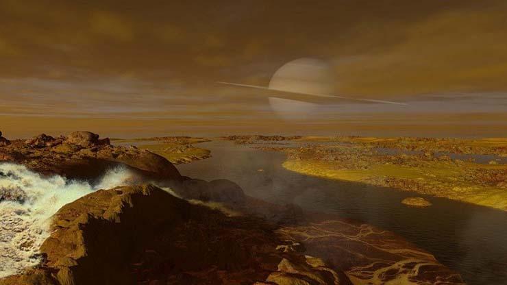 nasa vida extraterrestre titan - La NASA revela que hay vida extraterrestre en Titán