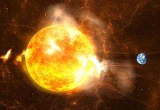 tormenta solar tierra 320x220 - Investigadores suecos advierten que una tormenta solar podría acabar con la vida en la Tierra este año