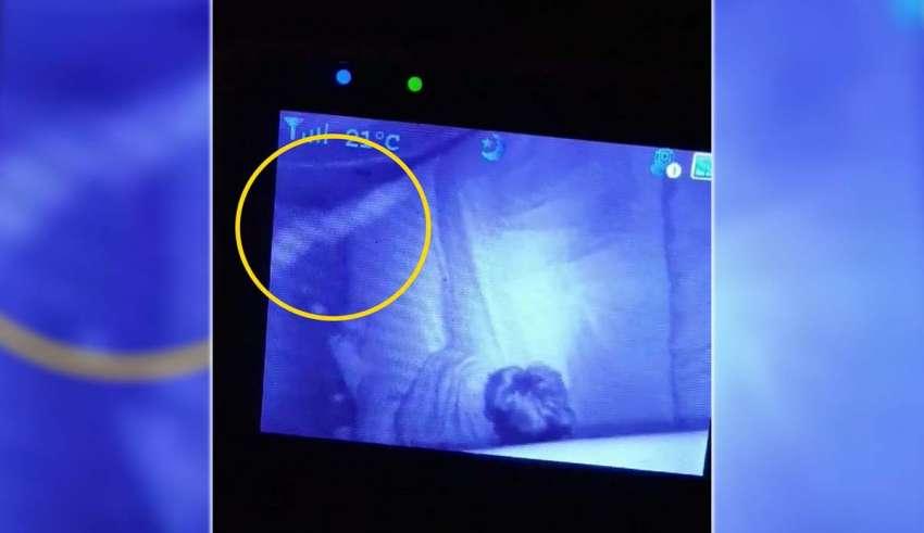 fantasma bisabuela 850x491 - Una madre graba el fantasma de la bisabuela protegiendo a su hijo mientras duerme