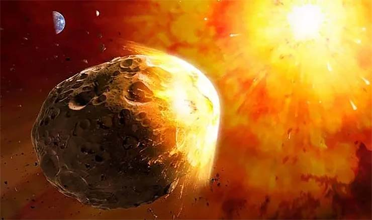 Nasa impacto do asteróide apocalíptico - NASA se prepara para o impacto iminente de um asteróide apocalíptico