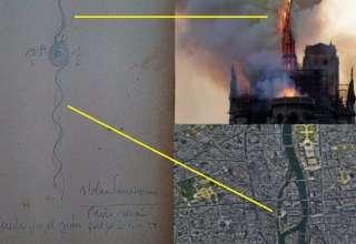 parravicini notre dame 320x220 - Benjamín SolariParravicinitambién predijo el incendio de Notre Dame