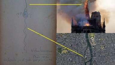 parravicini notre dame 384x220 - Benjamín SolariParravicinitambién predijo el incendio de Notre Dame