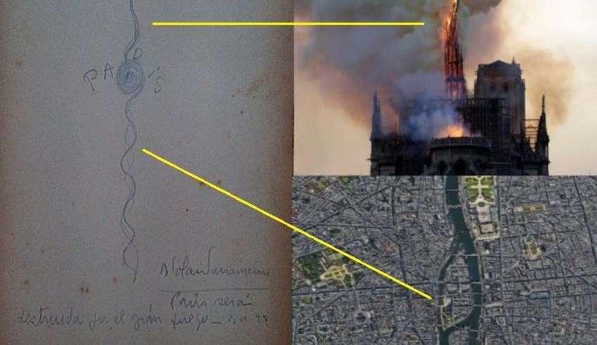 parravicini notre dame 850x491 - Benjamín SolariParravicinitambién predijo el incendio de Notre Dame