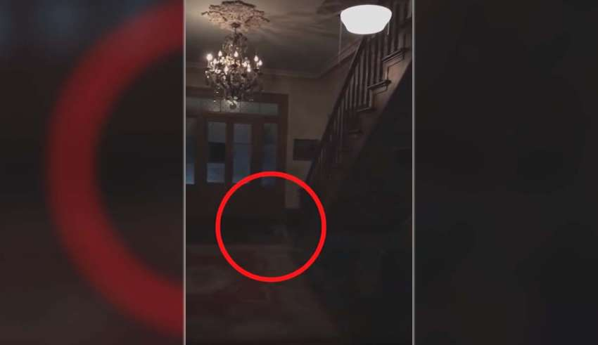 pies fantasmales 850x491 - Una pareja graba los pies fantasmales de tres niños en una plantación embrujada de los Estados Unidos