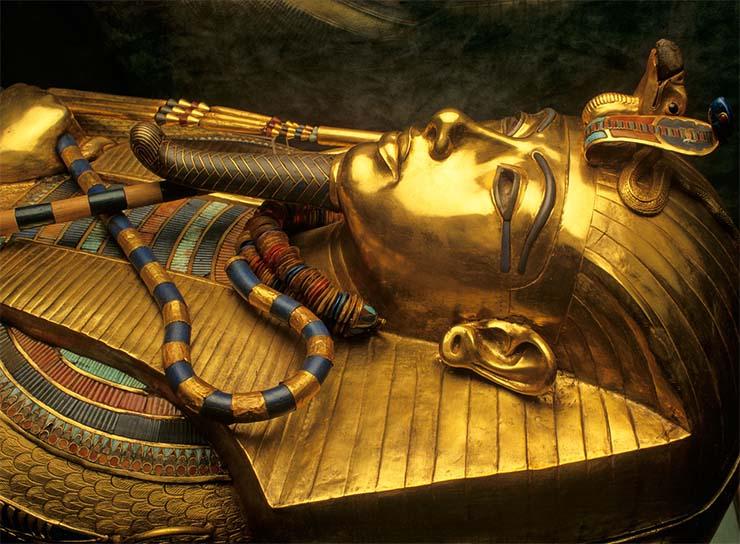 amuleto extraterrestre de tutankamon - Cientistas confirmam que o amuleto de Tutancâmon é de origem extraterrestre