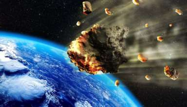 asteroide luna propia 384x220 - Un misterioso asteroide con luna propia se dirige peligrosamente hacia la Tierra