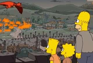 los simpson juego tronos 320x220 - La nueva predicción cumplida de Los Simpson: El capítulo 5 de la última temporada de Juego de tronos