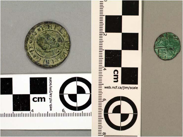 moneda espanola - Encuentran en Utah una moneda española acuñada 200 años antes de la llegada de Colón al Nuevo Mundo