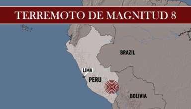 monstruoso terremoto peru 384x220 - Se cumple otra predicción de Hoogerbeets: Un monstruoso terremoto demagnitud 8 sacude Perú