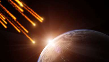 nube de escombros espaciales 384x220 - Científicos advierten que la Tierra se aproxima a una peligrosa nube de escombros espaciales