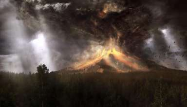 supervolcan yellowstone 384x220 - Geólogos advierten que el supervolcán de Yellowstone está a punto de erupcionar