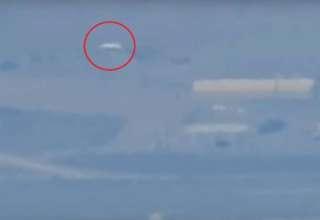 area 51 enorme ovni 320x220 - Un youtuber logra grabar las instalaciones del Área 51 y aparece un enorme OVNI