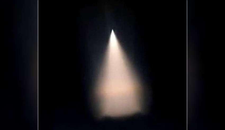 china ovni 850x491 - Pánico en China por la presencia de un OVNI durante unas pruebas militares
